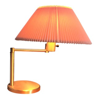 Walter Von Nessen Swing Arm Table Lamp For Sale