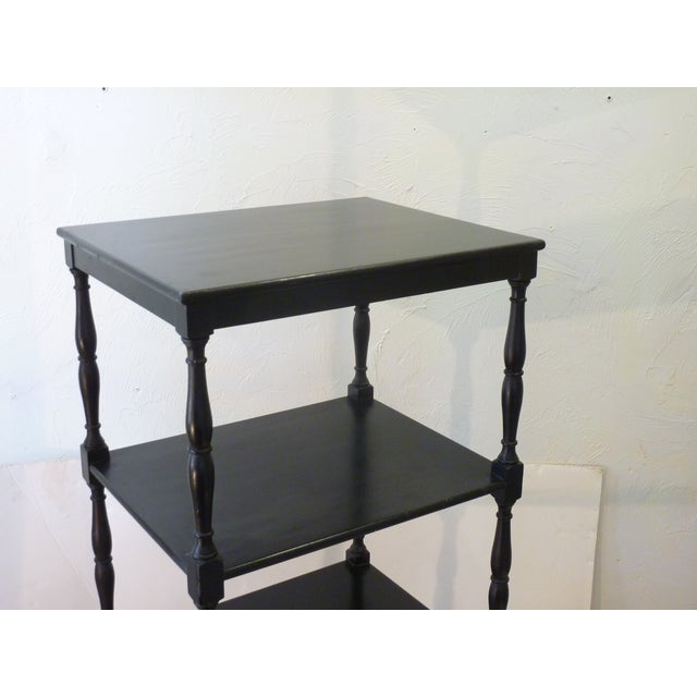 Wood Early 20th Century Antique Etagere For Sale - Image 7 of 10