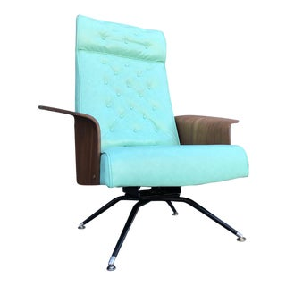 Mid Century Lounge Chair by Plycraft For Sale