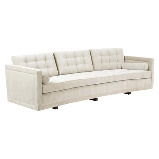 Harvey Probber Curved Sofa For Sale