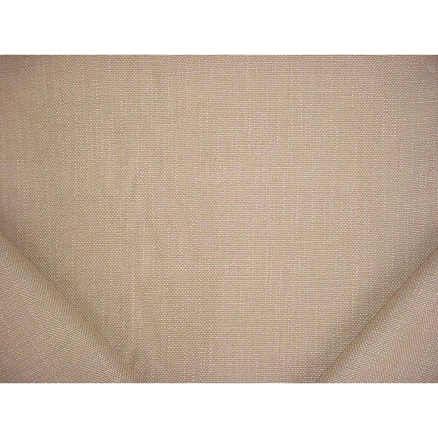 Traditional Casamance Flanerie Lin Brown Tweed Drapery Upholstery Fabric - 2-1/4y For Sale