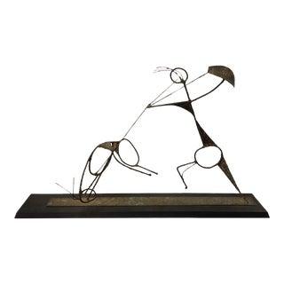 1960s Mid-Century Brutalist Sculpture by Sf Bay Area Artist Garry Knox Bennett For Sale
