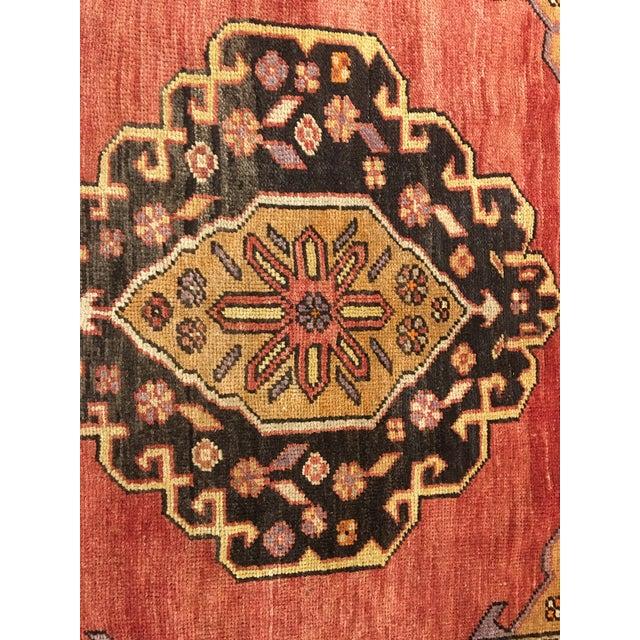 "Bellwether Rugs Vintage Turkish Oushak Runner - 5'8""x9'1"" - Image 4 of 10"