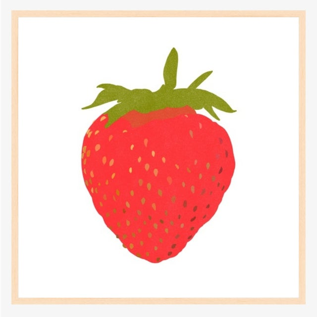 I picked this strawberry with my own two hands at the magical Sauvie Island 20 minutes down highway 30 from Portland,...