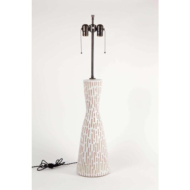 Ceramic Raymor Italian Ceramic Table Lamp For Sale - Image 7 of 8