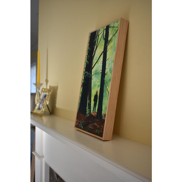 "Paint Contemporary Painting, ""Entering the Forest"", by Stephen Remick For Sale - Image 7 of 10"