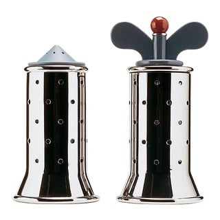 Graves for Alessi Pepper and Salt Grinder - Pair For Sale