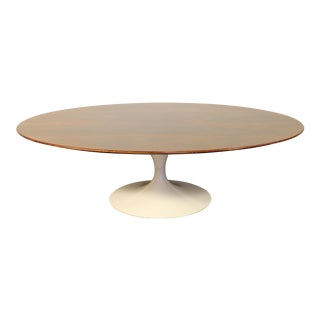 Eero Saarinen for Knoll Rosewood Tulip Coffee Table For Sale