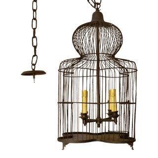 Custom Birdcage Chandelier For Sale