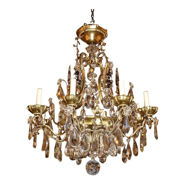 Jansen Antique Chandelier - Image 1 of 8