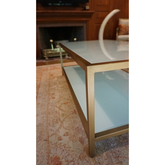 Ballard Designs Contemporary Suzanne Kasler Coffee Table For Sale - Image 4 of 8