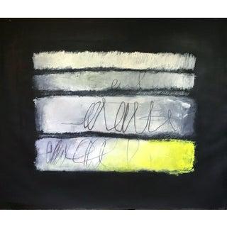 Love Poem, Bright Yellow - Original Artwork by Carolyn Reed Barritt For Sale