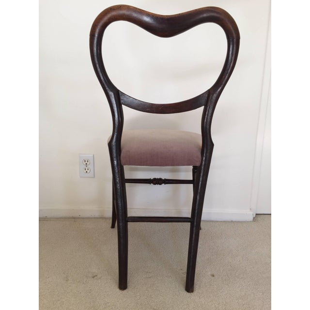 Traditional Pair of 19th Century Victorian Walnut Chairs For Sale - Image 3 of 11