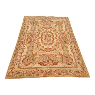 Room Size Aubusson Needlepoint Rug - 9' x 12'
