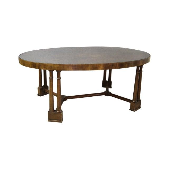 Vintage Wood Coffee Table - Image 1 of 5