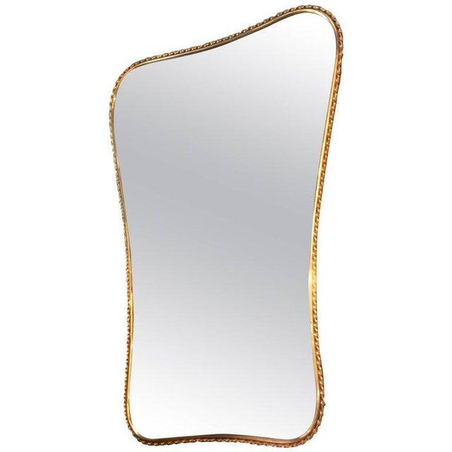 Brass Mirror, Italian 1960s - Image 7 of 7