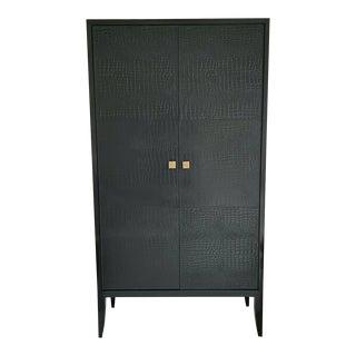 Arteriors Home Black Armoire For Sale