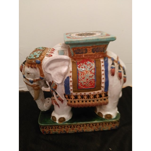 Elephant Decorative Plant Stand - Image 4 of 11
