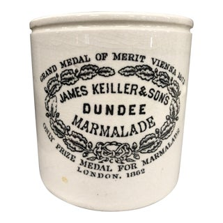 Antique Dundee Marmalade Crock For Sale
