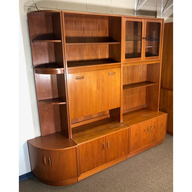 Mid Century Teak Modular Wall Unit by G Plan For Sale - Image 13 of 13