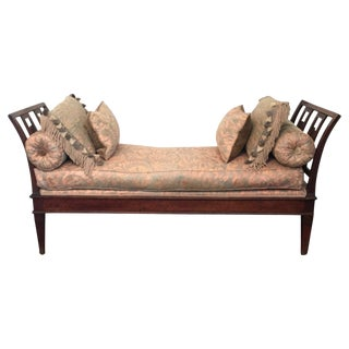 18th Century Italian Neoclassical Daybed