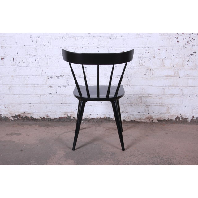 Paul McCobb Ebonized Planner Group Dining Chairs - Set of 10 For Sale - Image 10 of 13