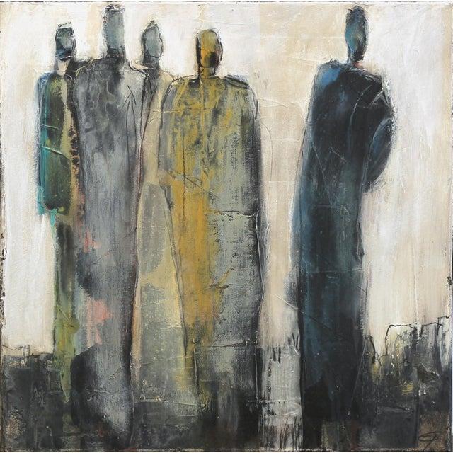 "Abstract Original Artwork, ""9492"" by Edith Konrad For Sale"