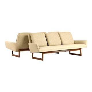 Jens Risom, Pair of Sofas, Circa 1960's For Sale