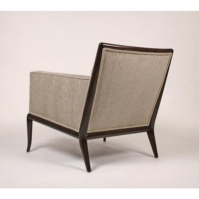 Wood Pair of Classic Lounge Chairs by t.h. Robsjohn-Gibbings For Sale - Image 7 of 9