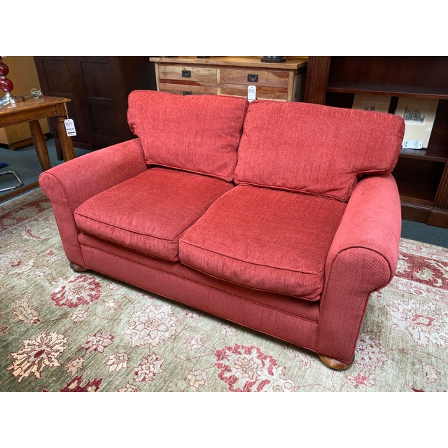 Design Plus Gallery presents The Apartment Sofa by Lee Industries. Classic styling with rolled arms, self welting and bun...