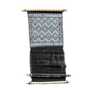 Backstrap Loom Textile VIII For Sale