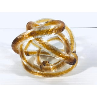 Italian Twisted Murano Glass Sculpture Preview