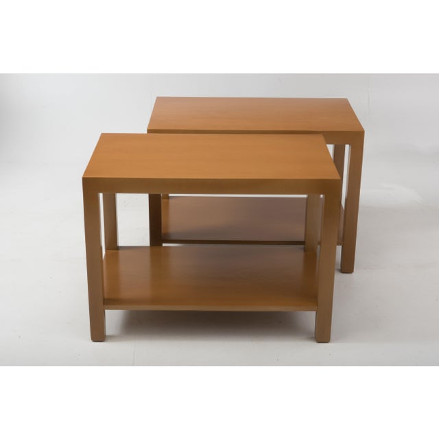 Widdicomb T.H. Robsjohn Gibbings Widdicomb Parsons End Tables - a Pair 1949 For Sale - Image 4 of 13