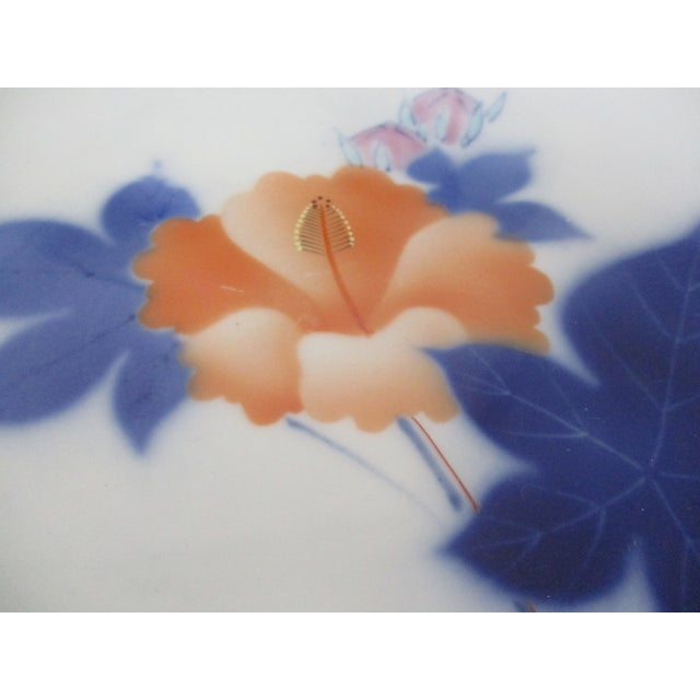 Asian Late 20th Century Vintage Japanese Porcelain Plates- Set of 4 For Sale - Image 3 of 7