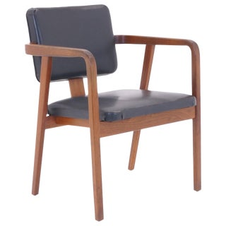 George Nelson for Herman Miller Desk or Side Chair With Arms, Signed For Sale