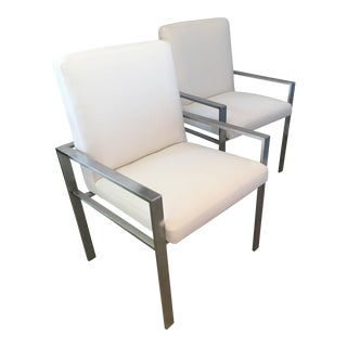 Pair of Mid Century Modern Harvey Probber Armchairs For Sale