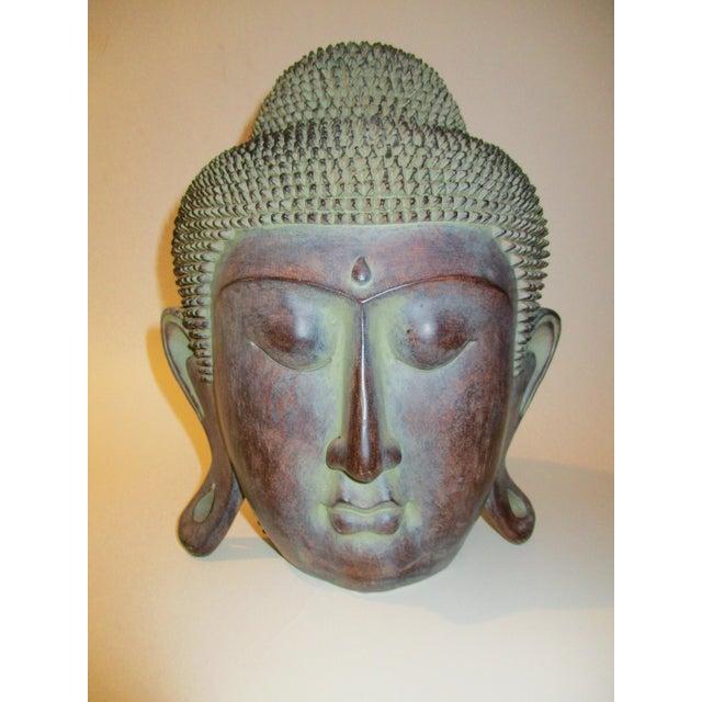 Resin Buddha Head Figure - Image 2 of 5