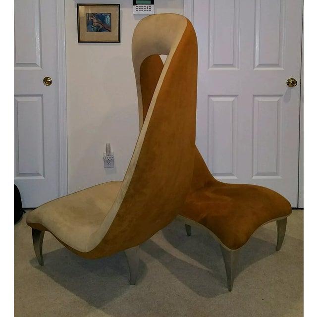 """Hank Vu """"Tete De Tete"""" Flamenco Chair - Image 4 of 7"""