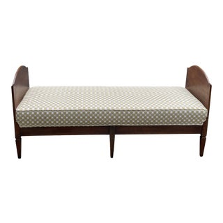 Antique French Directoire Daybed For Sale