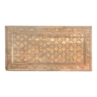 Stunning Carved Architectural Carved Ceiling Panel For Sale