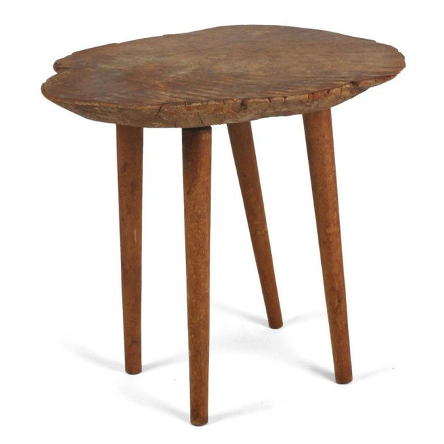 Mid-Century Modern Roy Sheldon Studio Craft Occasional Table For Sale - Image 3 of 7