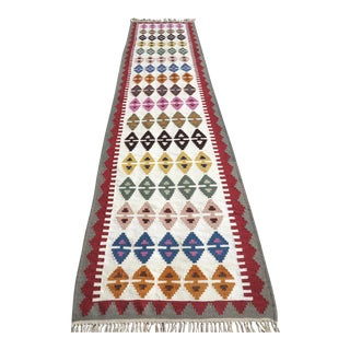 "Anatolian Turkish Kilim Runner-3'1'x13"" For Sale"