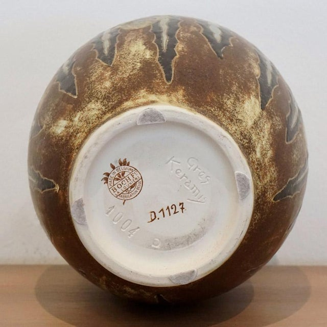 1920s Charles Catteau Vase For Sale In Los Angeles - Image 6 of 7