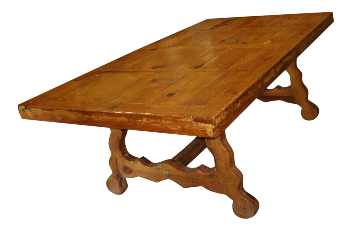 vintage used country dining tables chairish rh chairish com Country Kitchen Table Sets White Country Kitchen Table