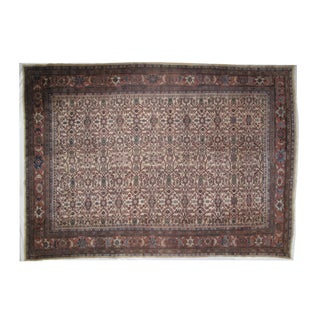 Leon Banilivi Antique Sultanabad Rug - 8′6″ × 12′ For Sale
