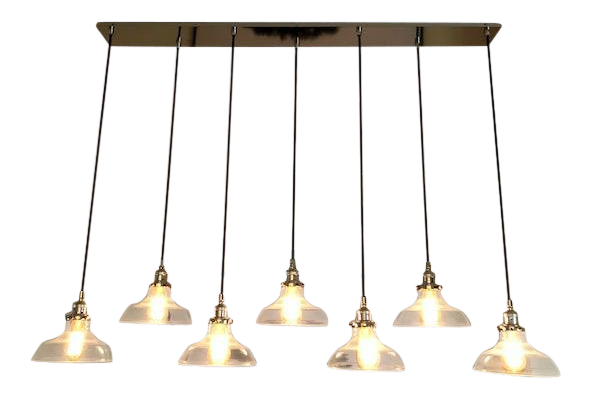 Used pendant lighting Pool Table 20th Century Factory Filament Clear Glass Barn Rectangular Pendant For Sale Pinterest Vintage Used Industrial Pendant Lighting Chairish