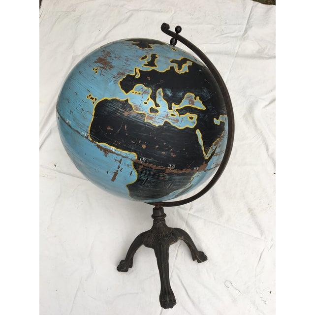 Aviation Globe on Iron Base - Image 2 of 5