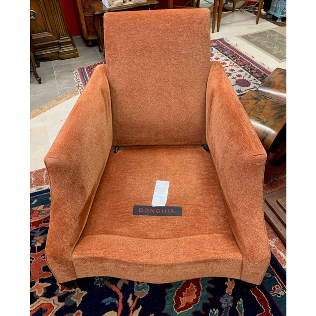 Wood Donghea Club Chairs - a Pair For Sale - Image 7 of 12