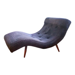 "1960s Vintage Adrian Pearsall for Craft Associates ""Wave"" Lounge Chair For Sale"
