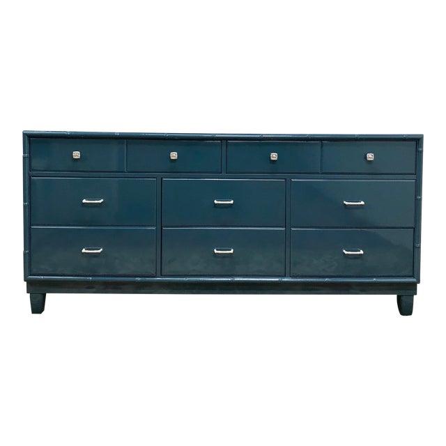 Blue Dresser | High Gloss Blue Dresser - Image 1 of 9